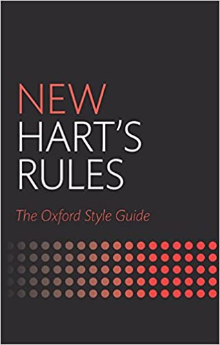 New oxford style manual oxford university press.