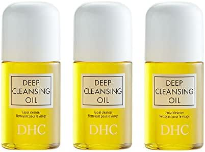DHC Deep Cleansing Oil Mini, 1 Fl Oz (Pack of 3)