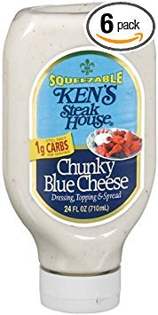 Ken's Steak House Dressing Topping & Spread Chunky Blue Cheese - 6 Pack