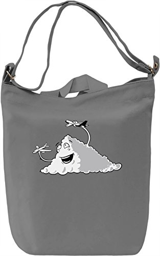 Cloud Toys Borsa Giornaliera Canvas Canvas Day Bag  100% Premium Cotton Canvas  DTG Printing 