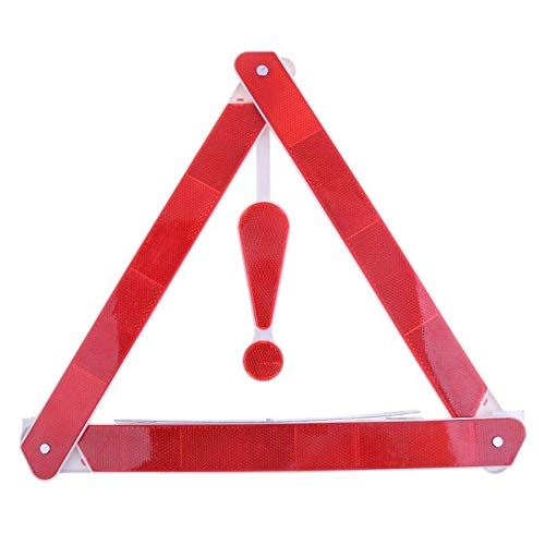 Daphot-Store - 1 Pcs Car Rear Warning Board Vehicle Danger Reflective Emergency Warning Tripod Folded Stop Sign Reflector Car Styling Accessory