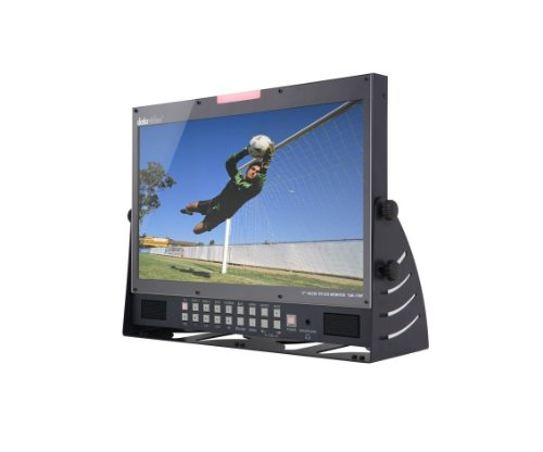 New Datavideo | 17'' LCD monitor, TLM-170P with HD/SD-SDI, HDMI, YUV, and CV inputs, Supports 1080p resolution and 3G-SDI (Desktop Model) by Datavideo