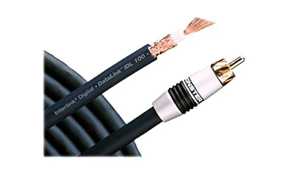 Monster Cable Interlink® DatalinkTM 100 Low-Loss S/PDIF Style Digital Coaxial Cable 2m 2m: Amazon.es: Electrónica