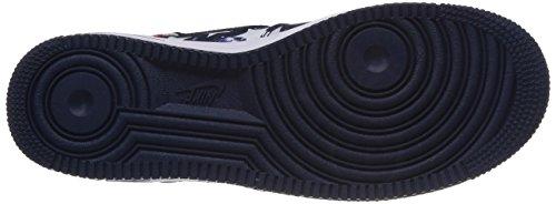 Ginnastica Scarpe da NIKE Air Force Blu Uomo 1 wqttXAc1H