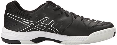 Asics Mens Gel-game 6 Scarpa Da Tennis Nero / Bianco