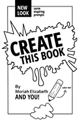 """Create This Book is fresher than ever! This revised version has a new look with all the same inspiring prompts PLUS a bonus """"Tips and Tricks"""" page add-on.This is the ultimate outlet for creativity. Includes 235 pages of unique and inspiring p..."""