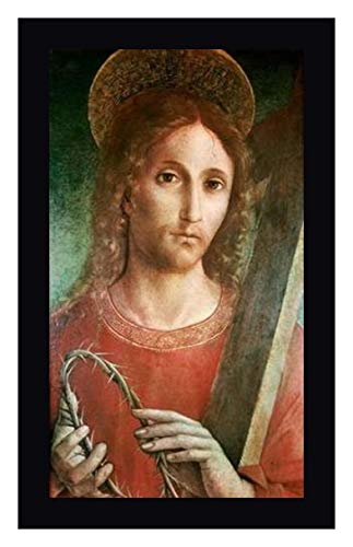 (Jesus with Cross and Crown of Thorns by Giacomo Pacchiarotto - 17