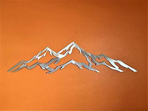 Aspen Mountain metal wall art by Bear Mountain Metal Art (Image #3)