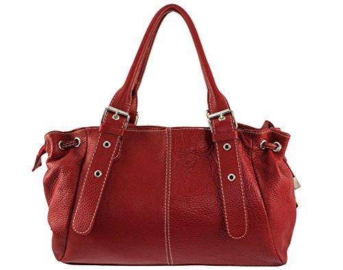 a sac sac Plusieurs a femme main a cuir italie sac main Coloris main cuir Sac sac Foncé Rouge sac cuir maria à a Maria main main maria sac nXPSZ80