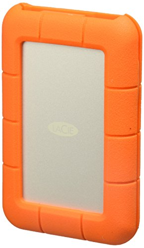 - LaCie 2TB Rugged Thunderbolt / USB-C Mobile External Hard Drive, 130MB/s Transfer Rate