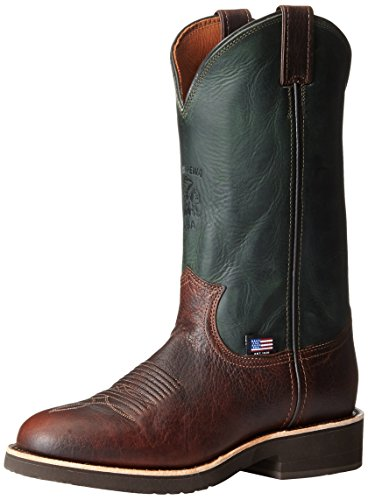 Briar Pit Stop (Chippewa Men's 12 Inch Briar Pitstop Round Toe Pull-On Ranch Boot,Brown,11.5 B US)