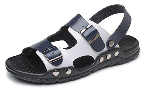 Caucho de Hombre Sandalias Azul SEAOEEY X5CqEngn