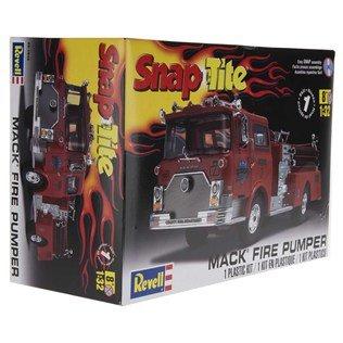 Snap Tite Mack Fire Pumper Truck Model Kit