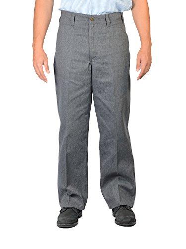 Ben Davis Original Ben's Cotton Twill Pants (36W x 34L, Charcoal (Original Ben Davis Pants)