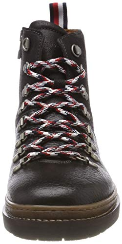 Hiking Noir 990 Homme Black Boot Outdoor Elevated Rangers Bottes Hilfiger Tommy 1xanHgBt