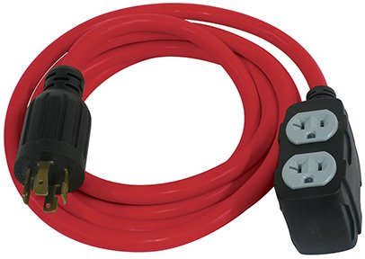 King Canada K-L1430-10 10-ft 12-Gauge Generator Extension Cord