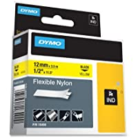 The Excellent Quality LABEL, DYMO RHINO, YELLOW 1/2X11.5