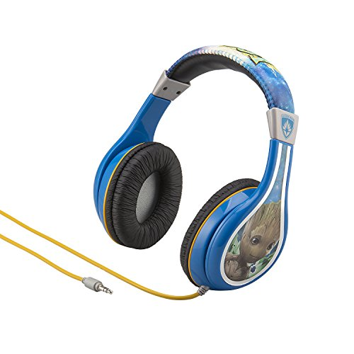 Guardians of The Galaxy Vol 2 Marvel Movie Kid Friendly Groot Headphones with Built in Volume Limiting Feature