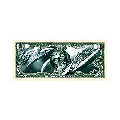 American Art Classics Set of 5 - Limited Edition Star Wars Collectible Million Dollar Bill: Toys & Games
