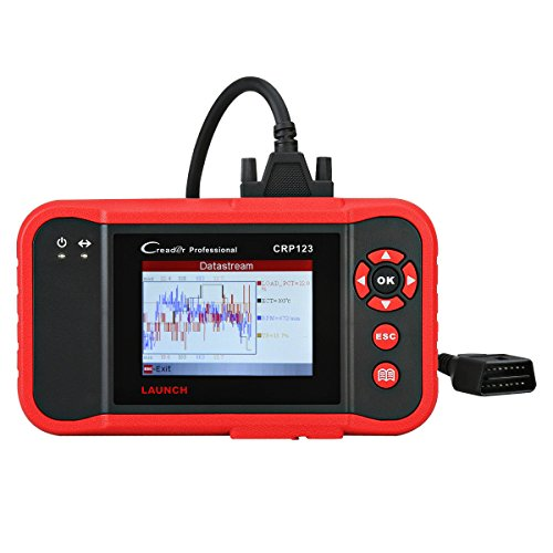 Launch CRP123 OBD2 Scanner ABS SRS Transmission and Engine Code Reader Diagnostic Scan Tool (Tech 2 Gm Scanner)