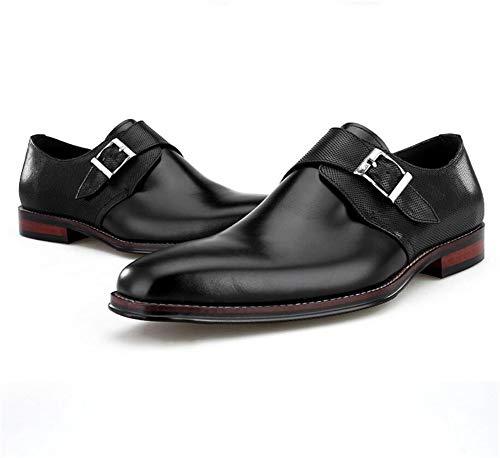 Tempo Shoes Commerciali Di Per Libero Nero Affari Mocassini Eleganti Pelle Uomo HN Uomo Pelle Scarpe Black Scarpe d1qdP