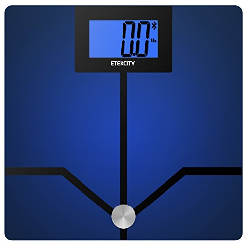 Etekcity Bluetooth Digital Smart Body Fat Weight Scale with 4.3 inch Large Display, 400 pounds
