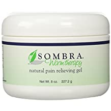 Sombra - Warm Therapy Pain Relieving Gel, All Natural 8 Oz (Pack of 3)