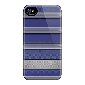New Arrival Premium Iphone 4/4s Case(bluechrome Glass Hd)