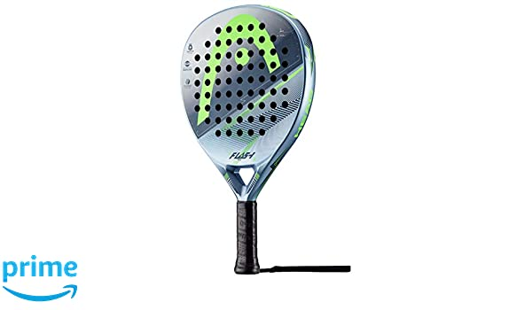 Head Flash Pro Pala de pádel de Tenis, Hombre, Azul grisáceo/Verde ...