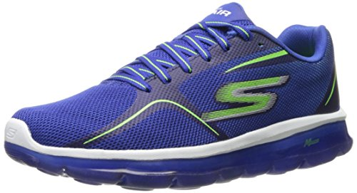 Skechers Performance Mens Go Air 2 Scarpa Da Passeggio Blu / Lime