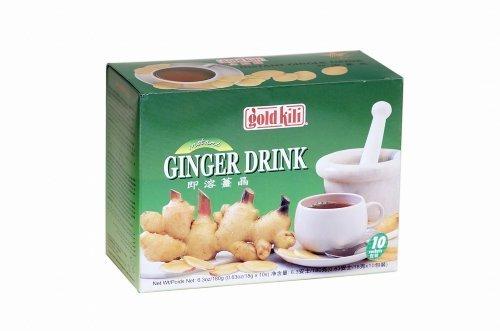 GOLD KILI Instant Ingwer Getränk 10x 18g Ginger Drink