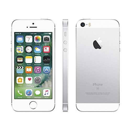 apple iphone se 64 gb factory unlocked silver certified refurbished. Black Bedroom Furniture Sets. Home Design Ideas