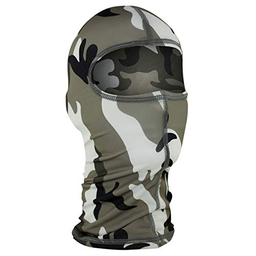 - Balaclava Nylon Head & Neck Warmer Urban Camouflage