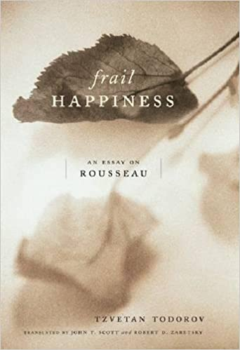 com frail happiness an essay on rousseau  frail happiness an essay on rousseau new edition edition