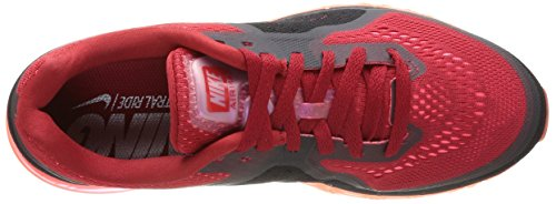 Nike Mens Air Max 2014, GYM RED/REFLECT SILVER-HYPER PUNCH, 7 M US