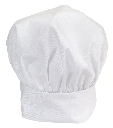 Ritz Pro Series Adjustable White Chef's Hat, One Size Fits All by Ritz