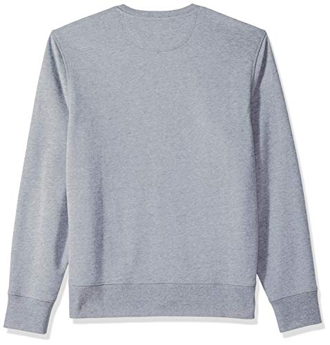 Essentials Gris Ae1813558 blu scuro Heather Felpa con Amazon Homme grigio chiaro cappuccio qx6dg5vw5Y