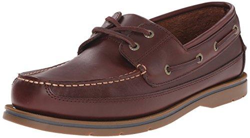 Sebago Men's Grinder Boat Shoe, Brown Smooth, 10 M US