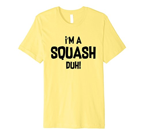 Halloween Costume Im A Squash Duh Yellow Shirt -