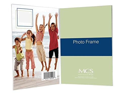 Bent Acrylic Frame 2-1/2x3-1/2 Double Vertical ()