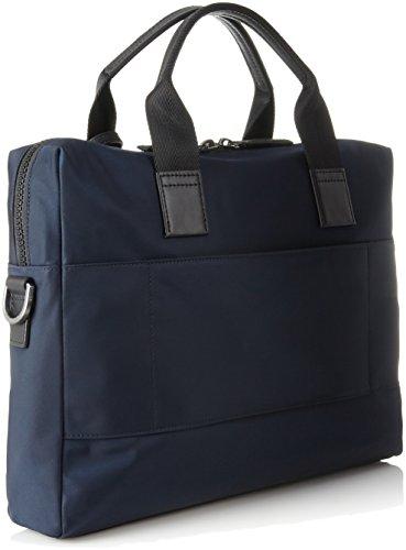 HUGO Herren Capital_s Doc Laptop Tasche, Blau (Dark Blue), 8x29.5x39 cm