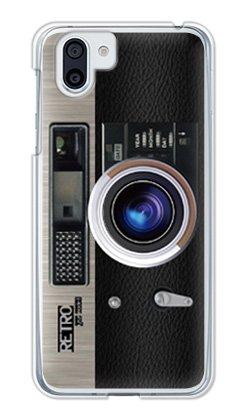 チロインシデント出口ガールズネオ AQUOS R2 docomo SH-03K/au SHV42/SoftBank 706SH ケース (Retro Camera/ブラック) SHARP SH-03K-PC-YSZ-0322