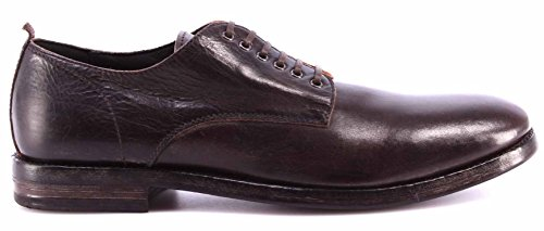 Zapatos Hombre MOMA 51503-RB Macao TMoro Derby Business Vintage Marron Oscuro IT