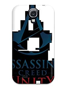 For BqbgTHa6614NNWeI Assassins Creed Unity Protective Case Cover Skin/galaxy S4 Case Cover