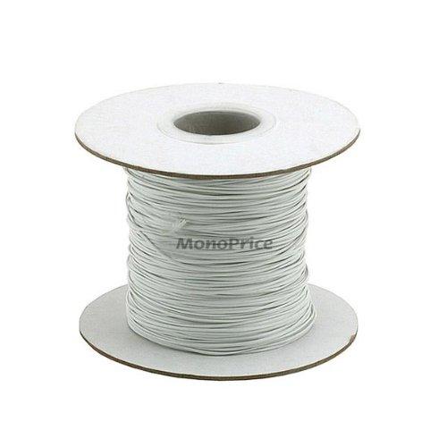 Monoprice 101411 290m Wire Cable Tie Reel, White