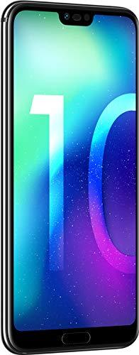 Huawei Honor 10 (COL-L29) 128GB Black, Dual Sim, Dual Camera 24MP+16MP, 4GB RAM, GSM Unlocked International Model, No Warranty