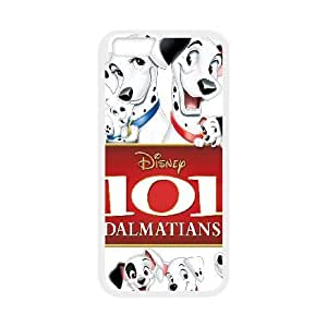 Personalized Durable Cases iPhone 6 Plus 5.5 Inch Phone Case White Qvona 101 Dalmatians Protection Cover