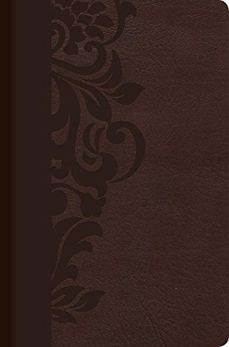 RVR 1960 Biblia de Estudio para Mujeres, café símil piel con índice (Spanish Edition)