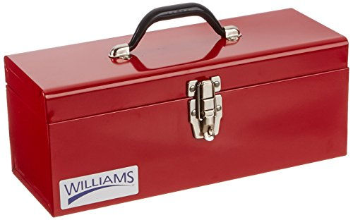 Williams TB-6116 Flat Top Toolbox, 16-Inch (Williams Tool Chest)