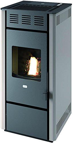 Punto Fuego 9801775 Estufa Pellets martina-14, 1200 W, Negro